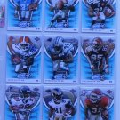 2004 UPPER DECK POWER UP! FOOTBALL CARDS - LOT OF 9