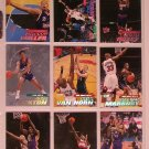 2000-01 FLEER ULTRA BASKET BALL CARDS - LOT OF 9