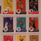 2003-04 FLEER PLATINUM BASKETBALL CARDS - LOT OF 9