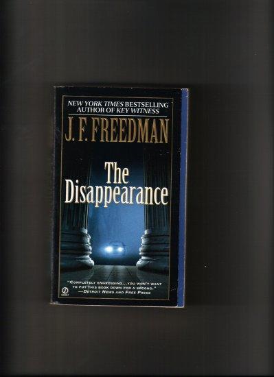 THE DISSAPEARANCE BY J.F. FREEDMAN