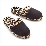 Leopard Print Slippers - Small,Medium and Large avaliable