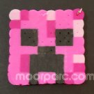 Minecraft Keychain - Pink Creeper (Free Shipping)
