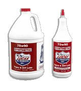 75/90 Synthetic Gear Oil - 55 Gallon Drum (1x1), #10074