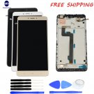 LCD Display Assembly Touch Screen Digitizer Glass+Frame+tools For XIAOMI MI MAX2