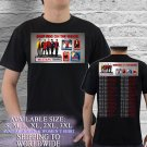 New Kids On the Block Tour Concert 2018 Man and Women T-Shirt S-XL Size Sta2