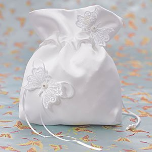 Satin Butterfly Wishes Purse