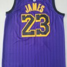 Men's Los Angeles Lakers LeBron James #23 Jersey Basketball Stitched