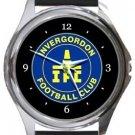 Invergordon Football Club Round Metal Watch