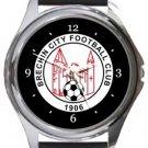 Brechin City Football Club Round Metal Watch