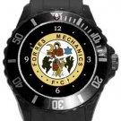 Forres Mechanics Football Club Plastic Sport Watch Black