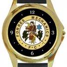 Forres Mechanics Football Club Gold Metal Watch