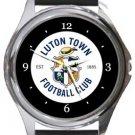 Luton Town FC Round Metal Watch