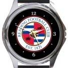 Reading FC Round Metal Watch