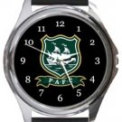 Plymouth Argyle FC Round Metal Watch