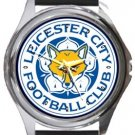 Leicester City Football Club Round Metal Watch