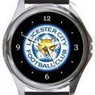 Leicester City FC Round Metal Watch