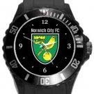 Norwich City FC Plastic Sport Watch Black