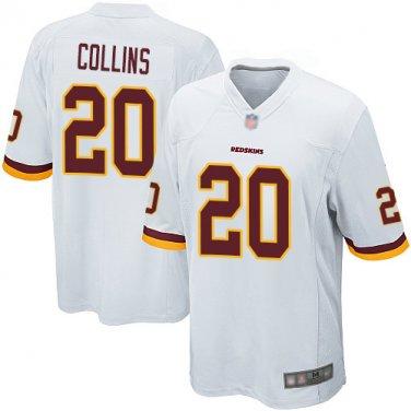 hot sale online 34f23 fa7cd Redskins Mens Landon Collins #20 Football Jersey Shirt White