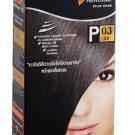 Dark Brown Permanent Hair Dye Color Cream Lolane Pixel P3 Rich Brunette Afro Emo