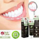 Active Charcoal Toothpaste Whitening Herbal for Bad Breath Halitosis Twin Lotus