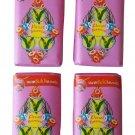 Parrot Thai Herbal Soap Aloe Vera  Rose Scented AHA Antioxidant Eczema Acne Skin