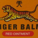 Red Tiger Balm 30g for Stuffy Nose Dizziness Cramps Headaches Migraine Burns