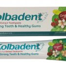 Kolbadent Thai Herbal Toothpaste with Clove Oil Streblus and Asper Leaf Extract