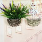 Simple Modern Round Shape Weave Wall Hanging Basket