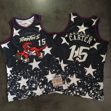 new arrivals 83130 80df3 Toronto Raptors 15# Vince Carter Jersey Fine Embroidery ...