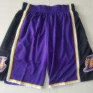 Men's Los Angeles Lakers Nike Icon Swingman Basketball Shorts Purple