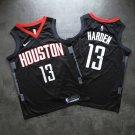 Men's Houston Rockets #13 James Harden Fine Embroidery Jersey Black