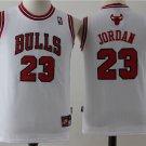 Youth Chicago Bulls #23 Michael Jordan Basketball Jersey WHITE