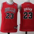 Youth Chicago Bulls #23 Michael Jordan Basketball Jersey RED