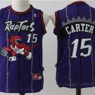 Youth Toronto Raptors #15 Vicent Carter Purple Basketball Jersey