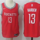 Youth Rockets 13 James Harden Basketball Jersey RED