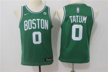 size 40 63990 fe20b Youth Boston Celtics 0 Jayson Tatum Basketball Jersey green