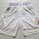 Men's Philadelphia 76ers Nike Icon Basketball Shorts White