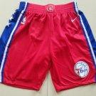Men's Philadelphia 76ers Nike Icon Basketball Shorts RED