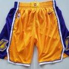 Men's Los Angeles Lakers Nike Icon Basketball Shorts – Yellow