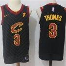 Men's Cleveland Cavaliers 3 Isaiah Thomas Jersey Black
