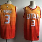 Men's Utah Jazz City Edition #3 Ricky Rulio Orange Jersey