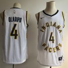 Men's Indiana Pacer 4# Victor Oladipo White Basketball Jersey