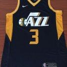 Men's Utah Jazz #3 Ricky Rulio Basketball Jersey Blue