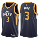 Men's Utah Jazz #3 Ricky Rulio Basketball Jersey Blue City Edition