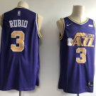Men's Utah Jazz #3 Ricky Rulio Basketball Jersey Purple