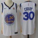 Men's Golden State Warriors #30 Stephen Curry Basketball Jersey White