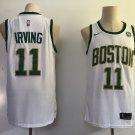 2018 Men's Boston Celtics #11 Kyrie Irving Basketball Jersey White New