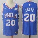 Men's Philadelphia 76ers #20 Markelle Fultz Basketball Jersey Blue