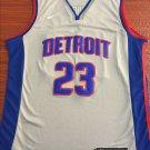 Men's Detroit Pistons #23 Blake Griffin Basketball Jersey Silver New