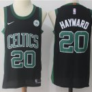 Men's Boston Celtics #20 Gordon Hayward Basketball Jersey Black